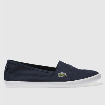 Lacoste Navy Marice 217 Womens Trainers#