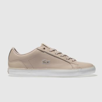 Lacoste Pale Pink Lerond Womens Trainers