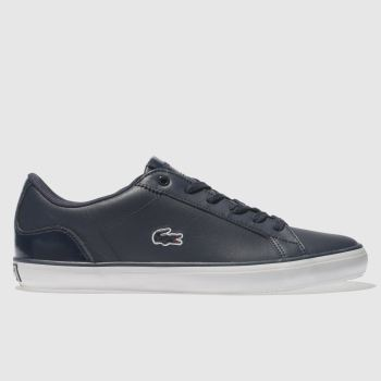 Lacoste Navy Lerond Womens Trainers