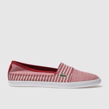 Lacoste Red Marice 118 Womens Trainers