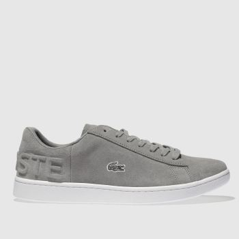 Lacoste Grey Carnaby Evo 318 Womens Trainers