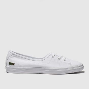 Lacoste White Zaine Chunky Womens Trainers