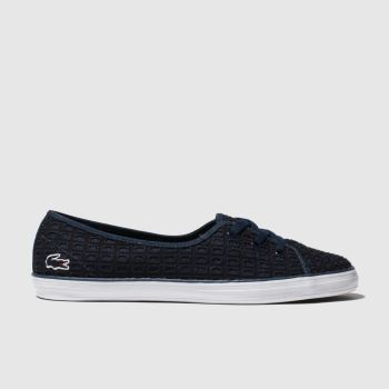 Lacoste Navy & White Ziane Chunky Womens Trainers