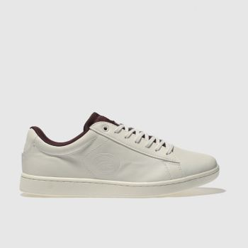 Lacoste Natural Carnaby Evo 418 Womens Trainers
