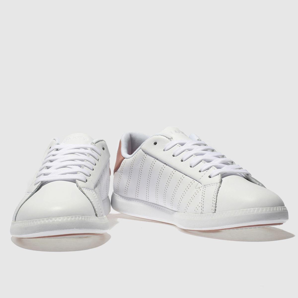 Damen Sneaker Weiß-pink lacoste Graduate 318 Sneaker Damen | schuh Gute Qualität beliebte Schuhe 559a2c