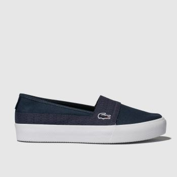Lacoste Navy Marice Plus Grand 119 Womens Trainers