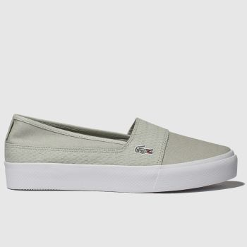 Lacoste Light Grey Marcie Plus Grand 119 Womens Trainers