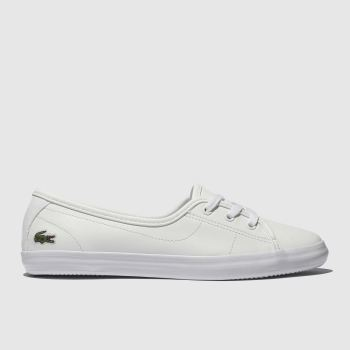 Lacoste White Ziane Chunky c2namevalue::Womens Trainers