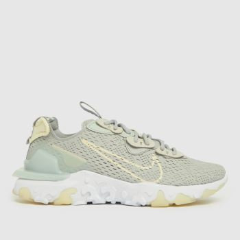Nike Grey React Vision Womens Trainers