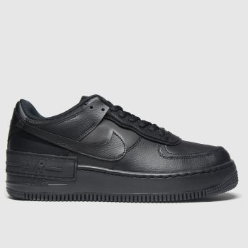 Nike Black Air Force 1 Shadow Womens Trainers