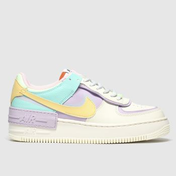 Womens Multi Nike Af1 Shadow Trainers Schuh