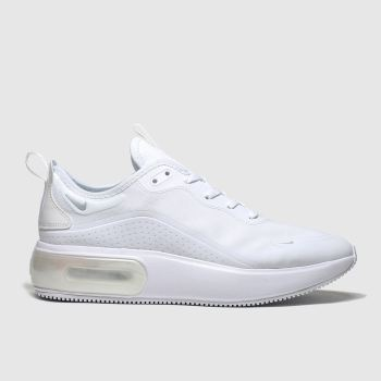 Nike White AIR MAX DIA Trainers