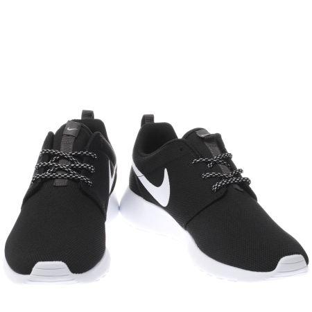 3e28159605d0 Womens Black   White Nike Roshe One Trainers
