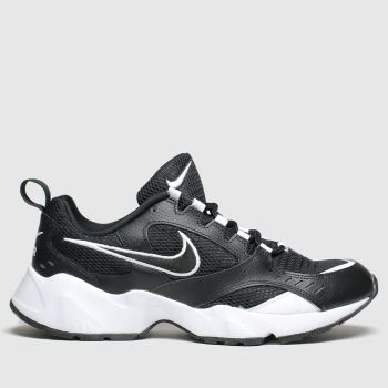 Nike Black & White Air Heights Womens Trainers