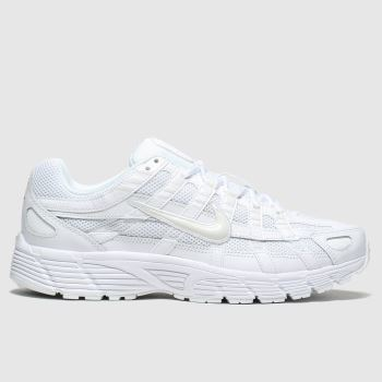 Nike White P-6000 Trainers