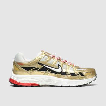 Nike Gold P-6000 Womens Trainers