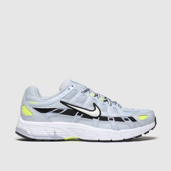 Nike Light Grey P-6000 Trainers