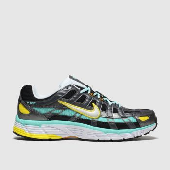 Nike Blue & Yellow P-6000 Womens Trainers