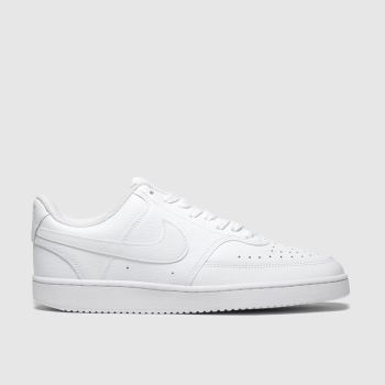 Nike White Court Vision Womens Trainers