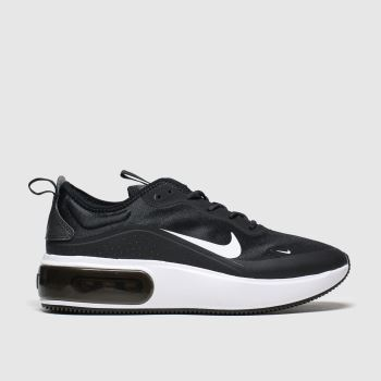 Nike Black & White Air Max Dia Womens Trainers