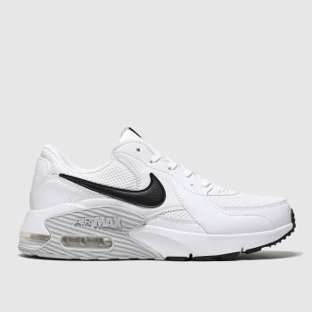 Nike White & Black Air Max Excee Womens Trainers