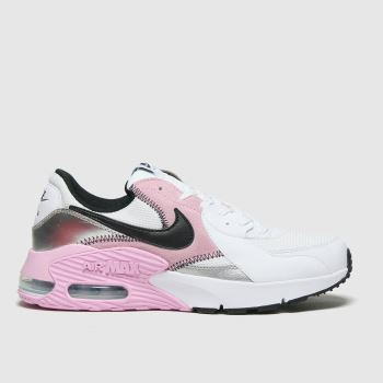 Nike White & grey Air Max Excee Womens Trainers