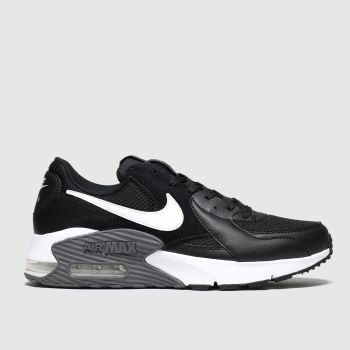 Nike Black & White Air Max Excee c2namevalue::Womens Trainers#promobundlepennant::£5 OFF BAGS