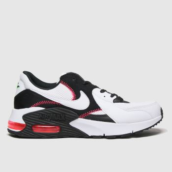 Nike Black & Red Air Max Excee Womens Trainers