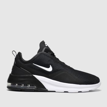 Nike Black & White Air Max Motion 2 Womens Trainers