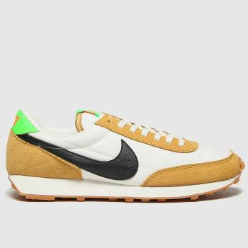 Nike White & Beige Daybreak Womens Trainers#