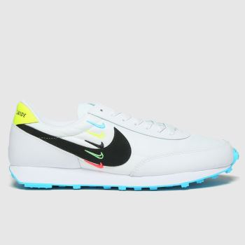 Nike White & Pl Blue Daybreak Womens Trainers