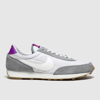 Nike White & grey Daybreak Trainers