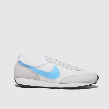 Nike White & Blue Daybreak Womens Trainers#