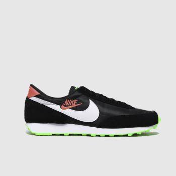 Nike Black & Green Daybreak Trainers