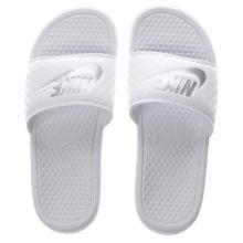 b106a0b2b0bb1 Nike White Benassi Pool Slide Womens Sandals