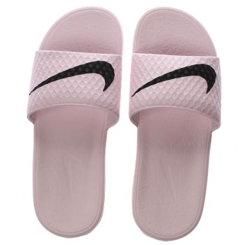 1890f078f34d ... promo code for nike pale pink benassi pool slide sandals fe1f3 ae68e