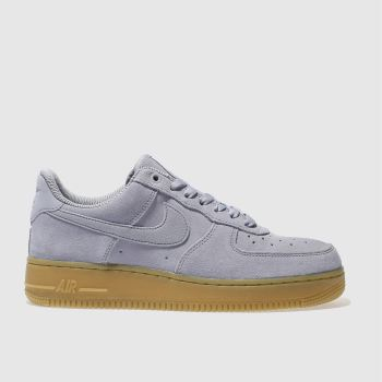 NIKE BLUE AIR FORCE 1 LOW TRAINERS