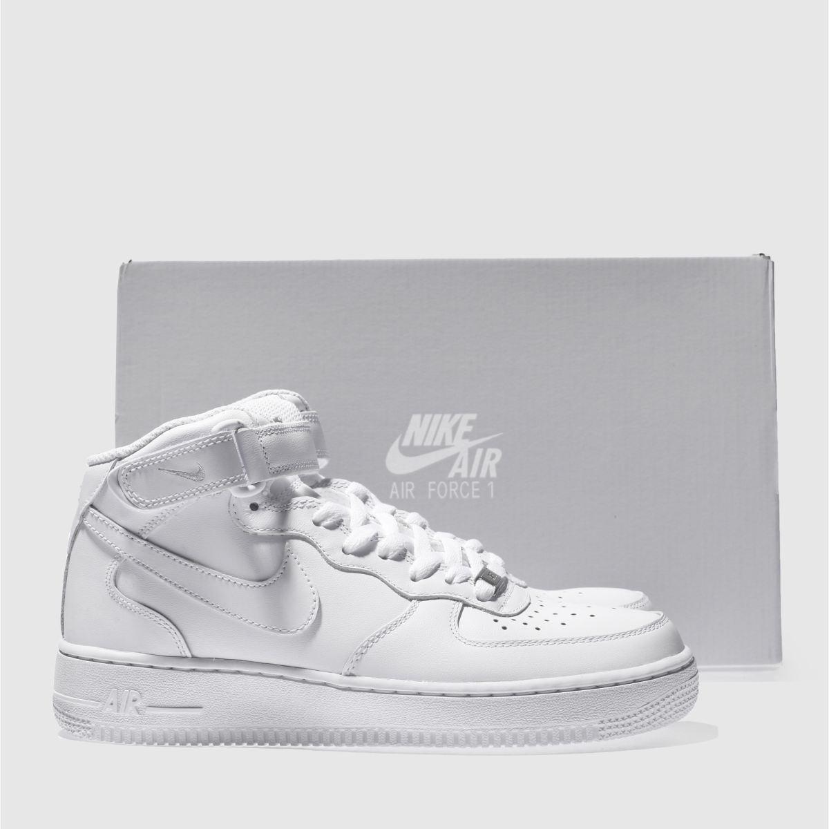 Damen Weiß nike Air Force 1 1 1 Mid Sneaker   schuh Gute Qualität beliebte Schuhe 426491