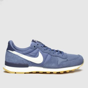 Nike Blue Internationalist Womens Trainers#