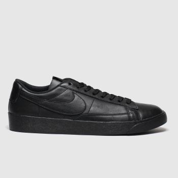 Nike Black Blazer Low Womens Trainers