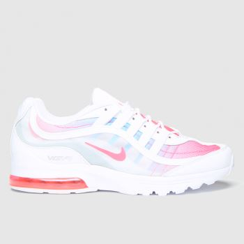 Nike White & Red Air Max Vg-r Womens Trainers