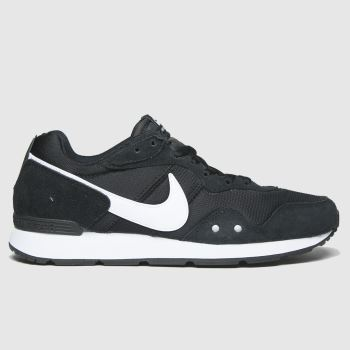 Nike Black & White Venture Runner Womens Trainers#
