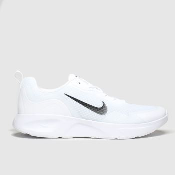 Nike White & Black Wearallday Womens Trainers