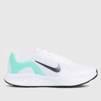 Nike White & grey Wearallday Womens Trainers