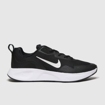 Nike Black & White Wearallday Womens Trainers