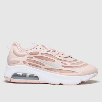 Nike White & Pink Air Max Exosense Womens Trainers