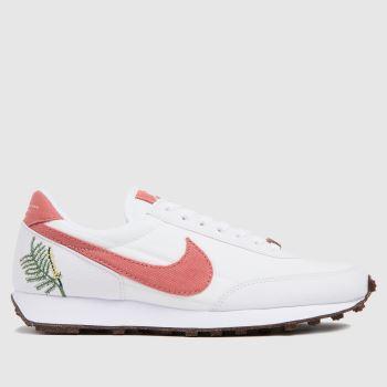 Nike White & Pink Daybreak Womens Trainers