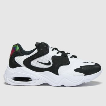 Nike White & Black Air Max Advantage 4 Womens Trainers