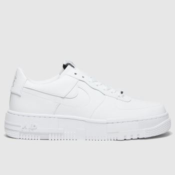 Nike White Air Force 1 Pixel Womens Trainers