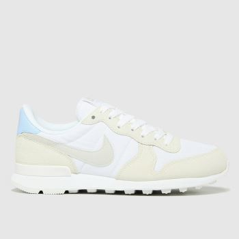 Nike White Internationalist Womens Trainers